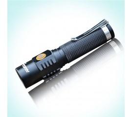 Аккумуляторный фонарик f-036, с прямой зарядкой от сети, 3 режима
