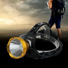 Акумуляторний налобний ліхтар f-052, пряма зарядка USB, 3 режими