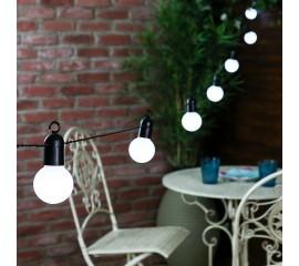 Гирлянда с белыми лампочками 20 л., 5 м. от сети