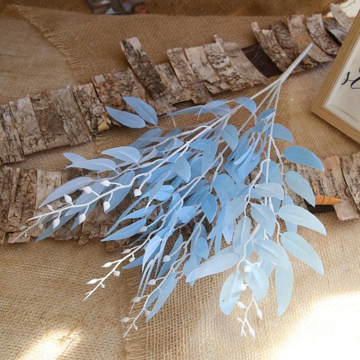 Букет традесканция 56 см - голубая