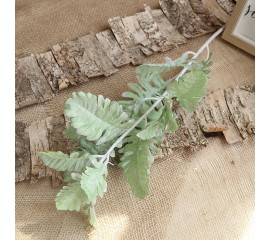 """Ветка """"Персидский лист"""" зеленая 80 см"""