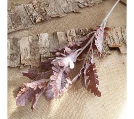 """Ветка """"Персидский лист"""" коричневая 80 см"""