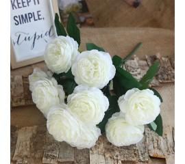 "Букет роза ""Анна"" белая 50 см"