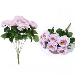 Букет роза чайная розовая
