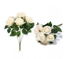 Букет роза бутон - с розовинкой