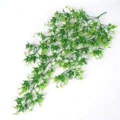 """Свисающая ветка """"Плющ"""" зеленый 80 см"""