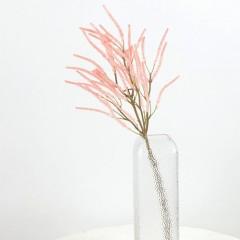 Ветка вереск персиковый 60 см