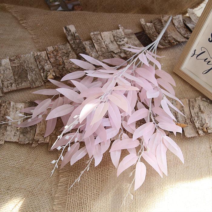 Букет традесканция 56 см - розовая