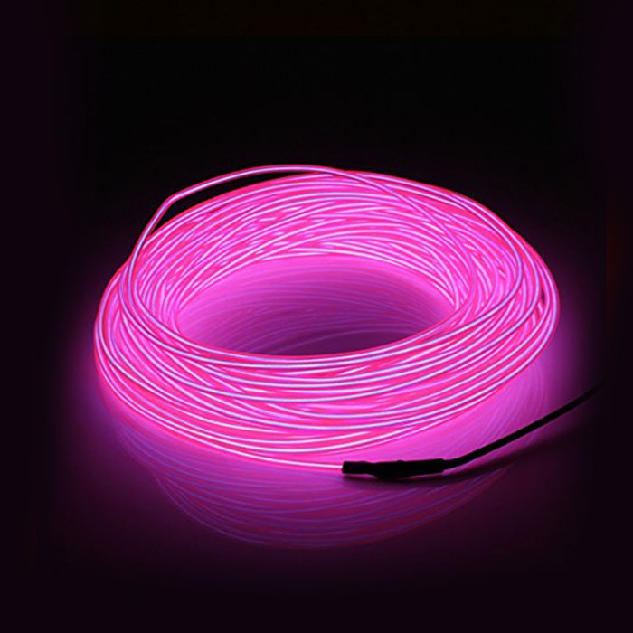 Automotive accent lighting led tube lights super flexible neon led rope lights rubber flexible cable