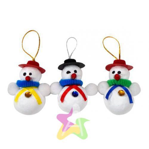Объемные фигурки: Снеговик